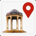 نقشه آفلاین شیراز