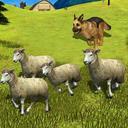 Sheep Shepherd Dog Simulator : Farm Animals Dog