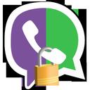 انتقال امن (فایل با وایبر، واتس اپ)