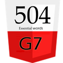 504 Essential Wors