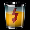 شارژ باتری در سه سوت (ویجت)