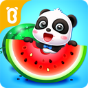 Baby Panda's Fruit Farm - Apple Family