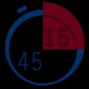 45 - 15 TOEFL Timer