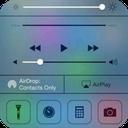 Control panel iphone 6