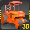 Road Roller Construction 3D