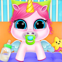 Baby Unicorn Care Pet Pony