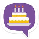 تولدت مبارک (کیک نوشته)