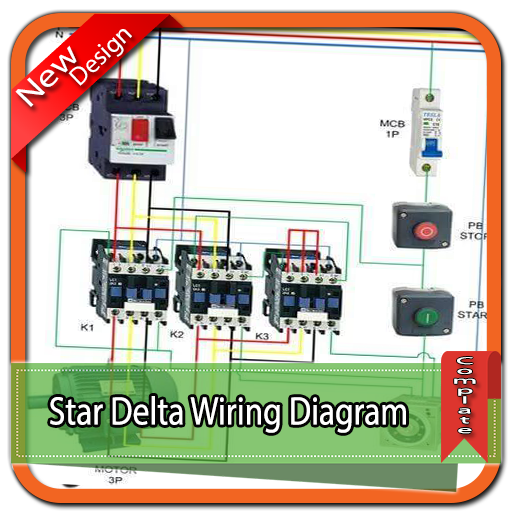 star delta wiring diagram for android  download  cafe bazaar