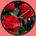 Photo Analog Clock Live Wallpaper-7