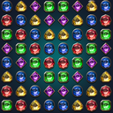 Jewels Magic Lamp : Match 3 Puzzle