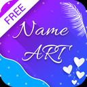 Name Art - Focus Filter - Name Card Maker