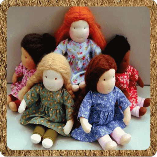 felted knit doll training