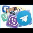 ترفند شبکه(تلگرام,اینستاگرام,....)