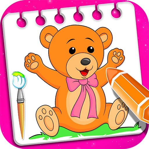Little Teddy Bear Coloring Book Game For Android - Download Cafe Bazaar