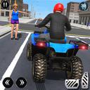 ATV Quad Bike Simulator 2021: Bike Taxi Games