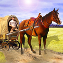 Horse Cart Carriage Farming Transport Simulator 3D