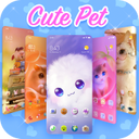 Cute Pets Themes - customized cat&doggy Wallpapers