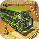 Army Bus Driving 2019 - Military Coach Transporter