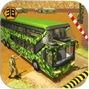 Army Bus Driving Fun - Military Coach Transporter