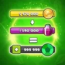 Free Gems Calc for Clash and stars games
