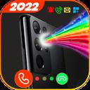 Color Flash Light Alert Calls - torch & edge