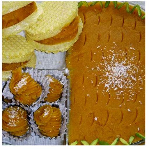 دستور پخت انواع حلوا ، ایرانی عربی