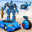US Police Robot Transform Helicopter Wars