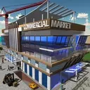 Commercial Market Construction Game: Shopping Mall