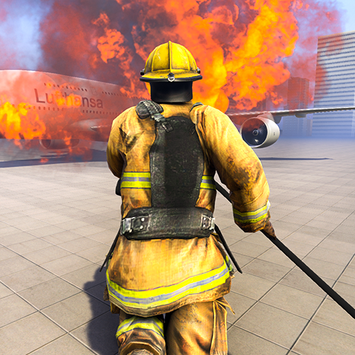 Firefighter Games : fire truck games