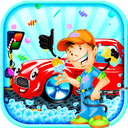 car wash and car fixing game