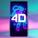 4D Parallax Wallpaper - 3D HD Live Wallpapers 4K