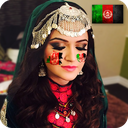 Afghan Flag On Face - New Faceflag Photo maker