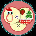 بازی توپ،کریسمس،حلقه
