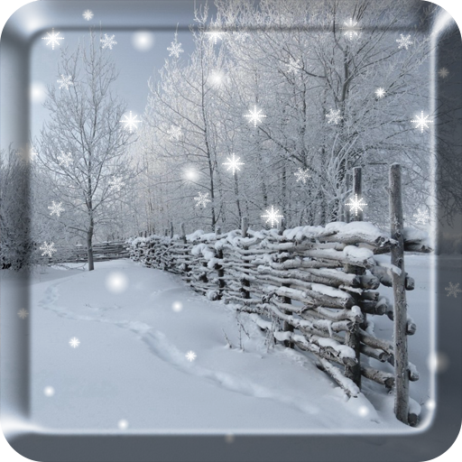 Winter Snow Live Wallpaper PRO