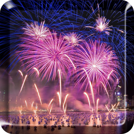 Fireworks Live Wallpaper 2018