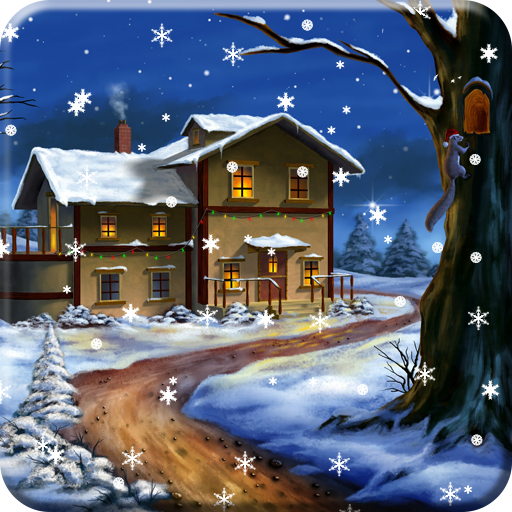 Snow Night PRO Live Wallpaper