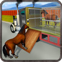 Wild Horse Zoo Transport Truck Simulator Game 2018