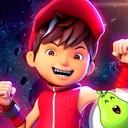 BoBoiBoy Galaxy Run: Fight Aliens to Defend Earth!