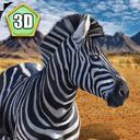 Wild Zebra Horse Simulator 3D