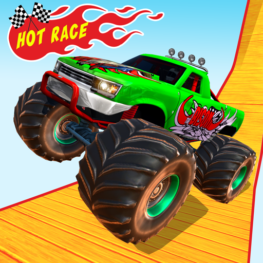 Monster Truck OffRoad Racing Stunts Game