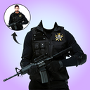 New Army Photo Suit Free Editor