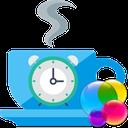 زمان سنج + کرنومتر (وقت استراحت)