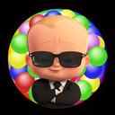 توپ های رنگی بچه رئيس