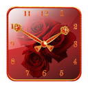 Rose Clock Widget lite