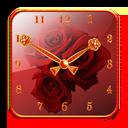 Rose Clock Widget lite