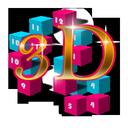 3D Widget Clock