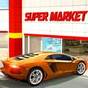 Drive Thru Supermarket Shopping Car Driving Game
