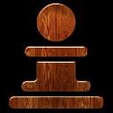 wood chess