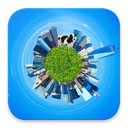 Tiny Planet - Globe Photo Maker