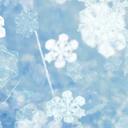 پس زمینه زنده دانه های کریستال برف